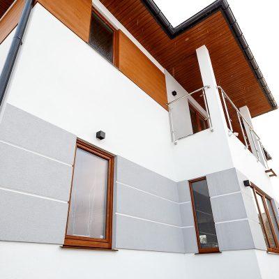 Внешняя отделка домов из сип панелей