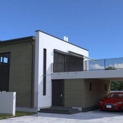 Современный СИП дом