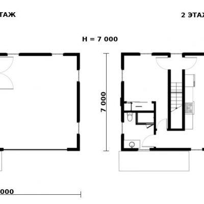 Загородный СИП дом: планировка