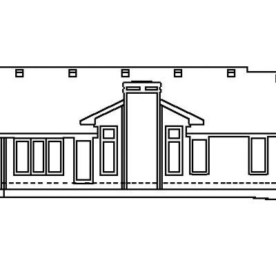 Одноэтажный СИП дом: схема