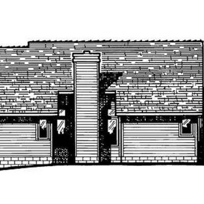 Дом из СИП панелей: сбоку