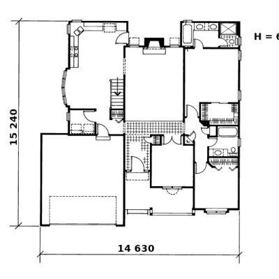 Дом из СИП панелей: планировка