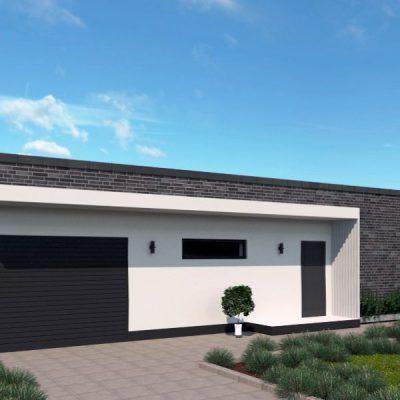 SIP дом с гаражом