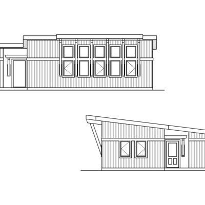 СИП дом с 4 спальнями: схематическое изображение