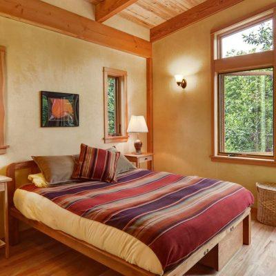 Коттедж из СИП панелей: спальня