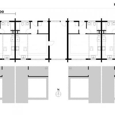 Блочный жилищный комплекс из СИП панеле: планировка