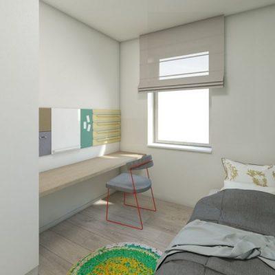 Дом с перголой: спальня