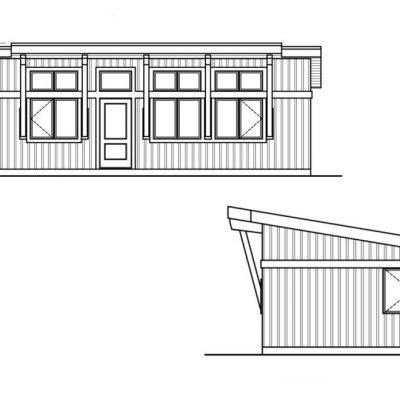Компактный SIP дом: Схема