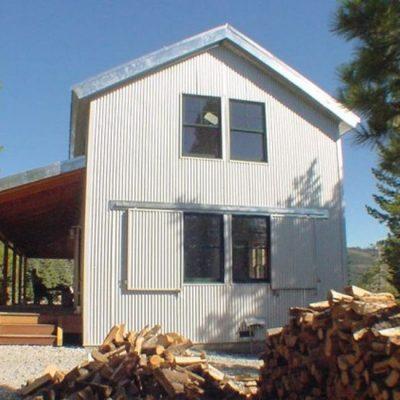 Двухэтажный дом: общий вид