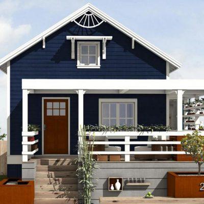 СИП дом: фасад дома