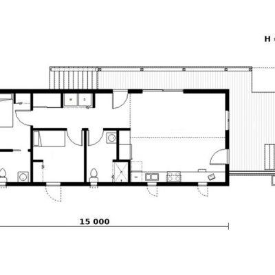 СИП дом: планировка