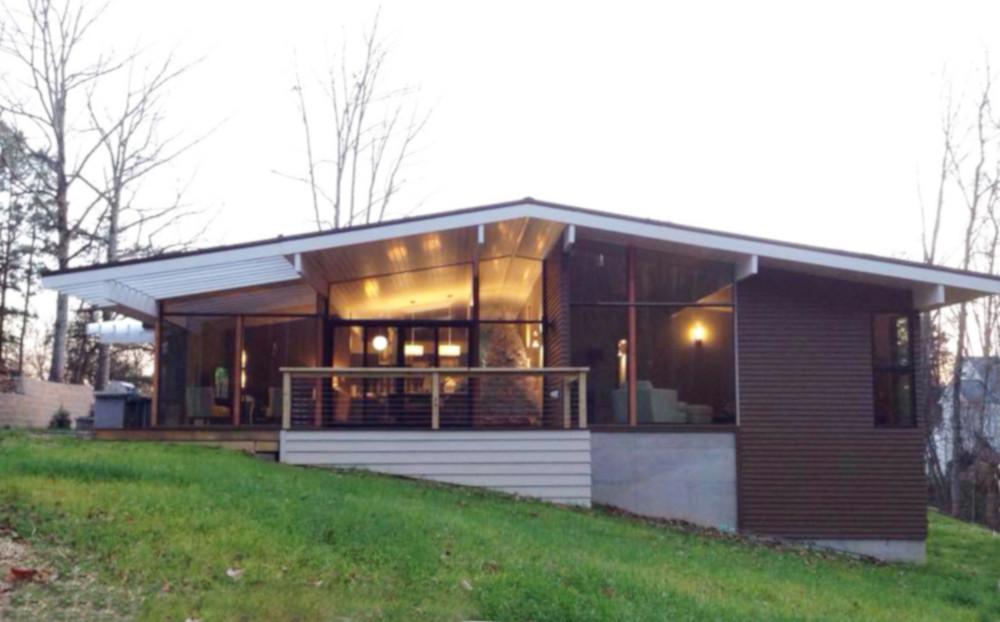 Вместительный СИП дом