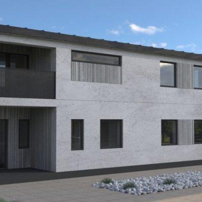 Двухэтажный СИП дом