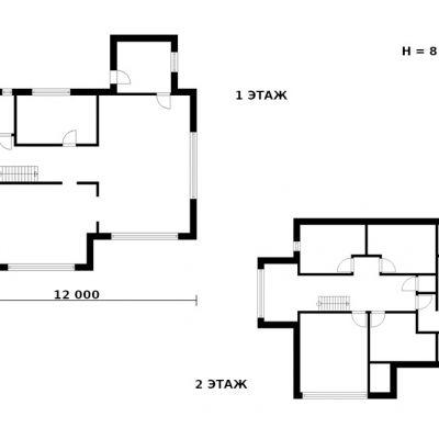 Современный эко-дом: планировка