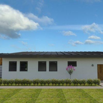 Семейный дом из СИП панелей: гараж
